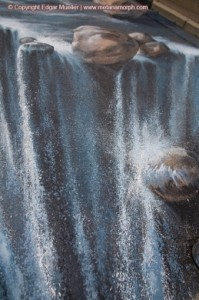 "A Closeup of ""The Waterfall"""